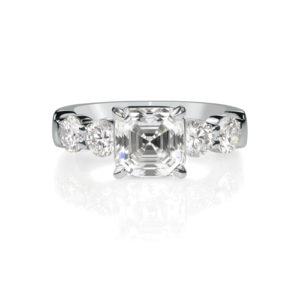 Princess Cut Halo Diamond