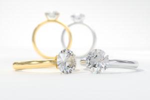 Princess Cut Halo Diamond Engagement Rings