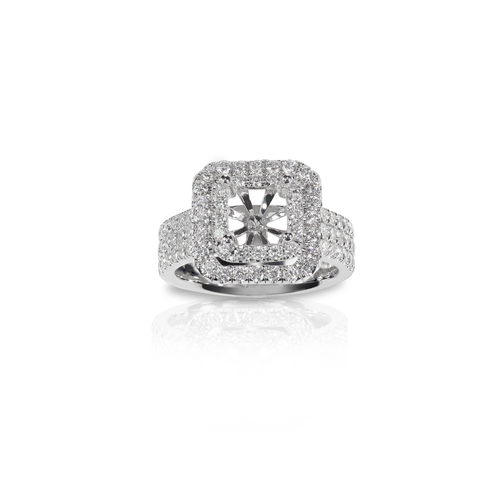 Halo vs. Solitaire Ring Setting