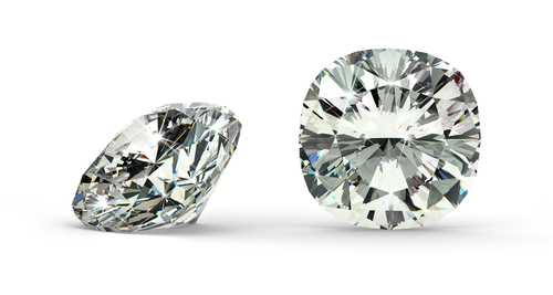 A Quick Look at Cushion Cut vs. Princess Cut Diamonds